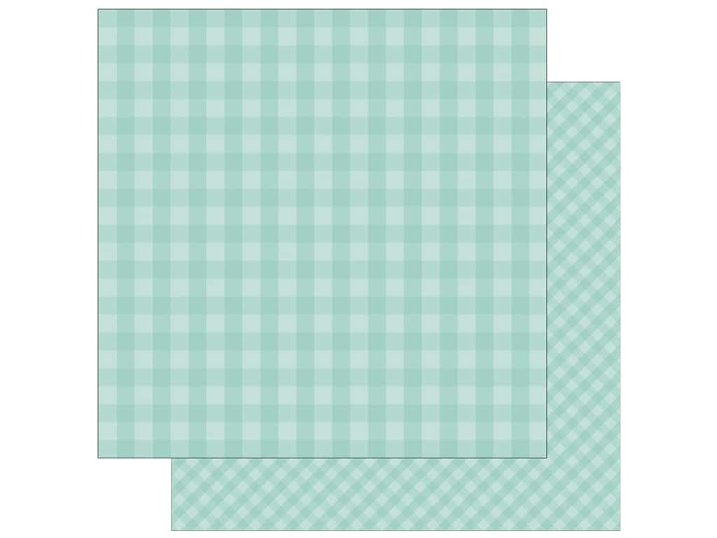 Echo Park Collection Dot & Stripe Spring Paper 12 in. x 12 in. Blueberry (25 pieces)
