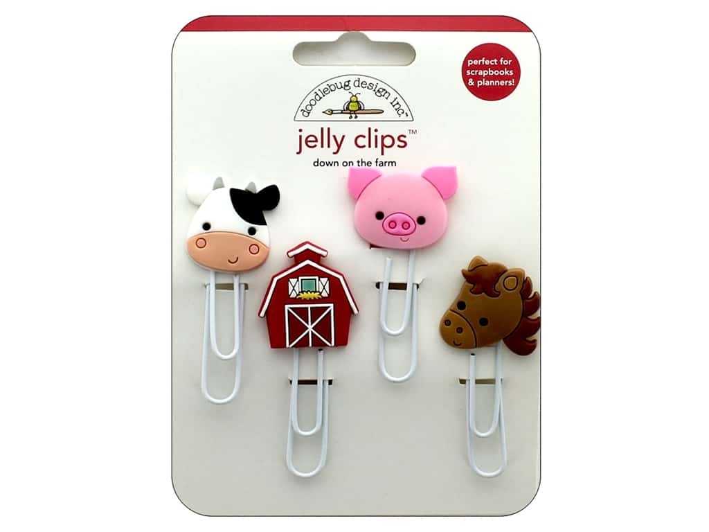 Doodlebug Collection Down On The Farm Jelly Clips