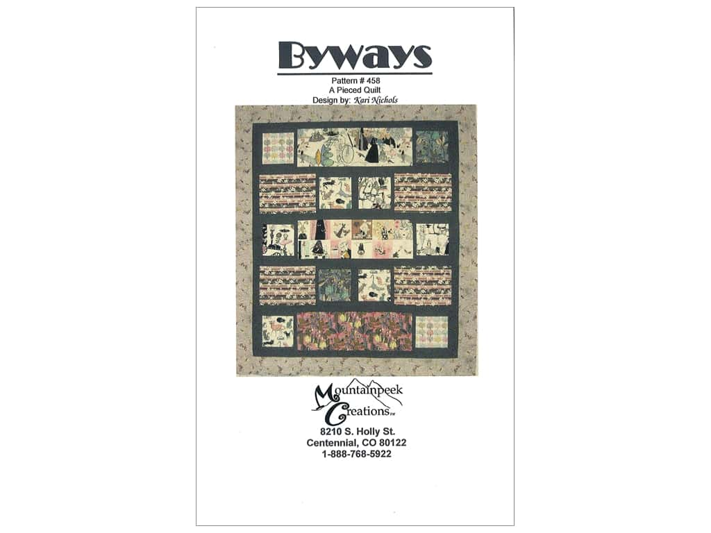 Mountainpeek Creations Byways Pattern