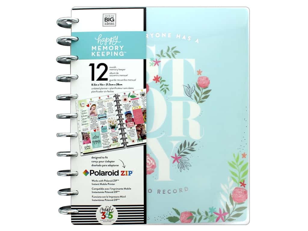 Me&My Big Ideas Collection Create 365 Happy Memory Keeping Planner Big My Story