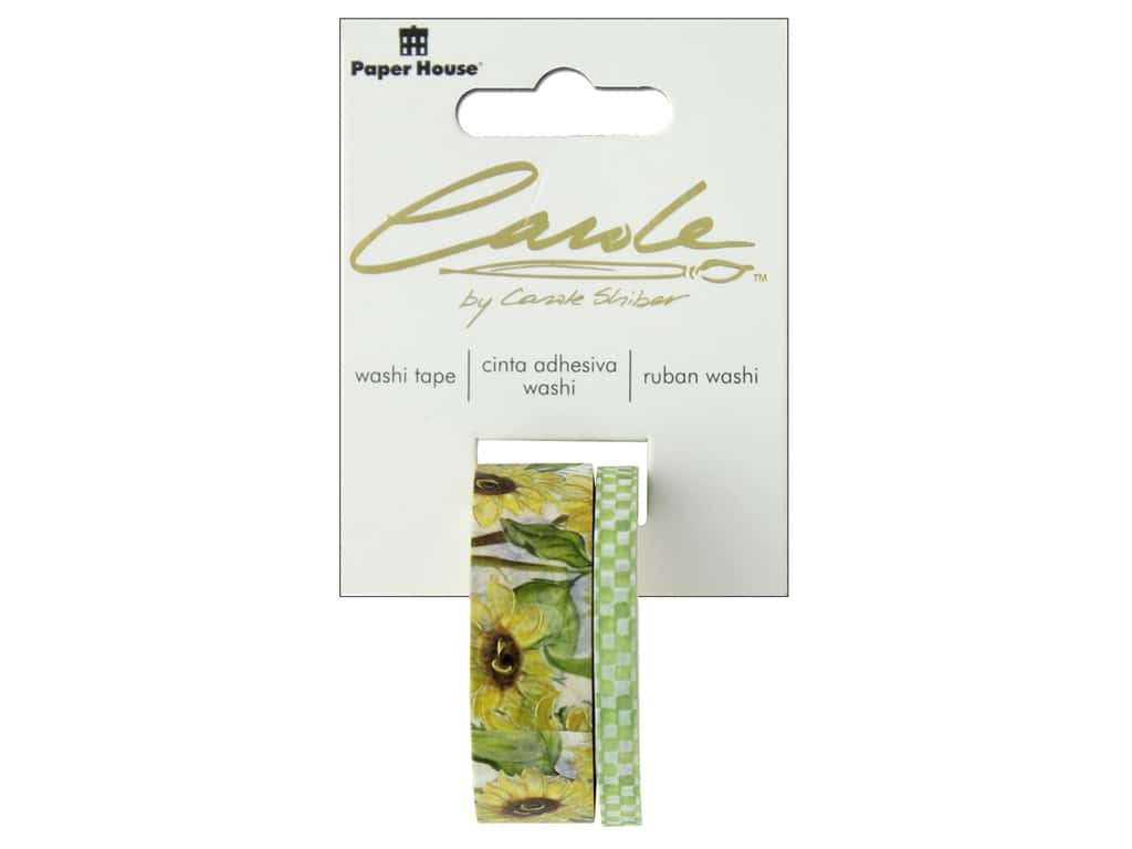 Paper House Washi Tape Sunflower