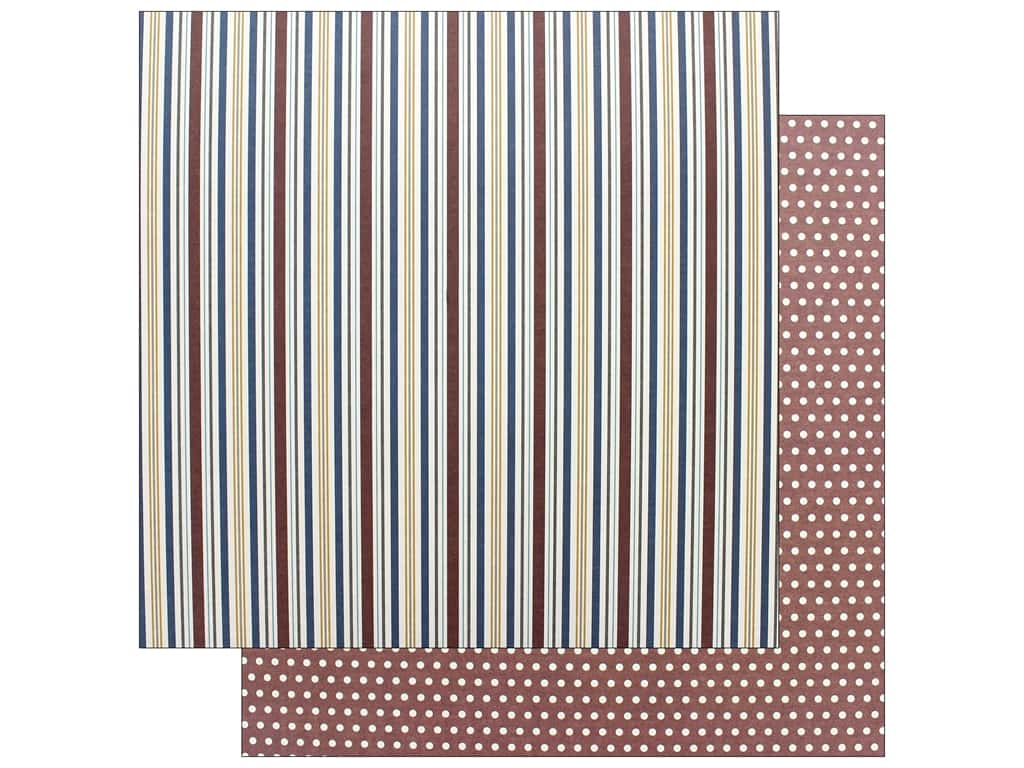 Photo Play Collection Man Card Paper 12 in. x 12 in. Stripe (25 pieces)