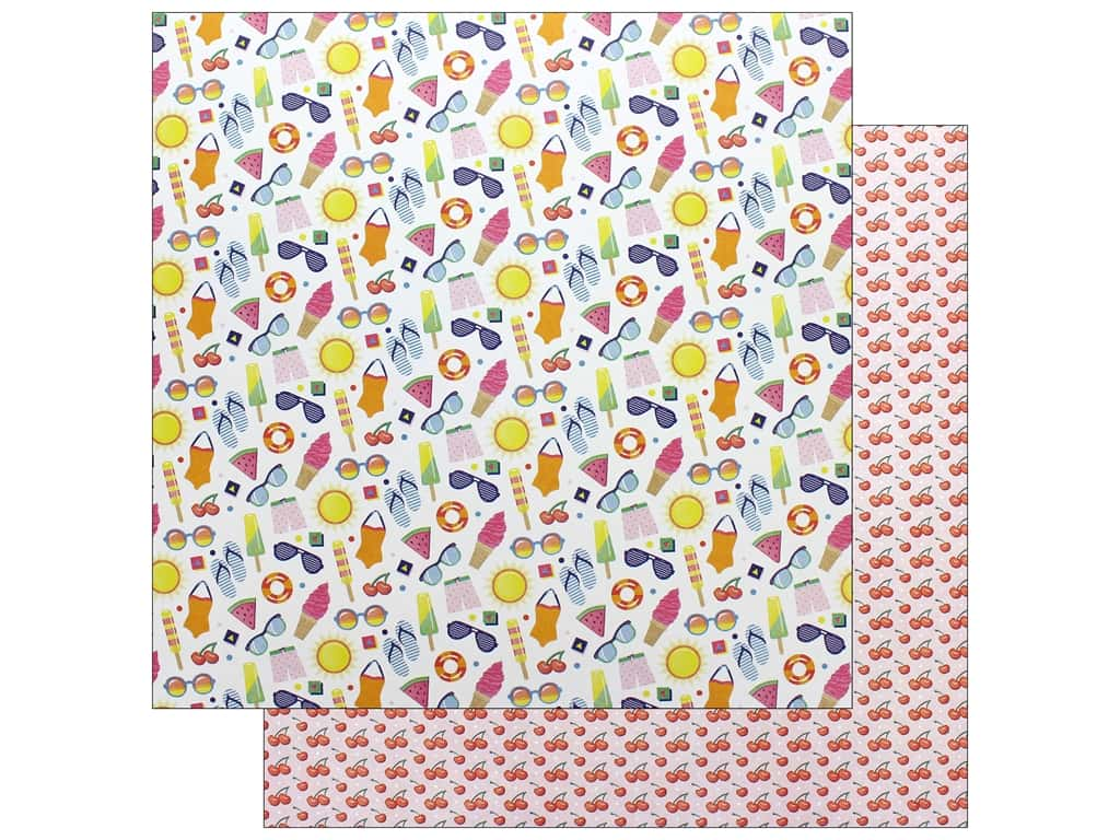 Photo Play 12 x 12 in. Paper Those Summer Days Summer Fun (25 pieces)