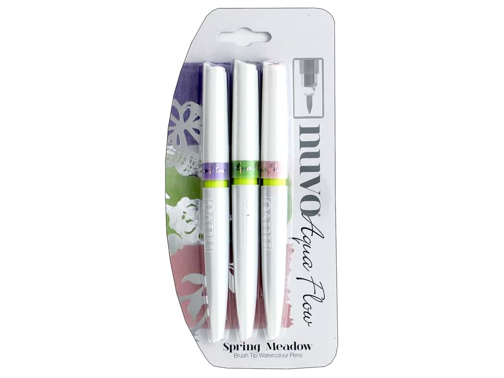 Nuvo Aqua Flow Pens 3 pc. Spring Meadow