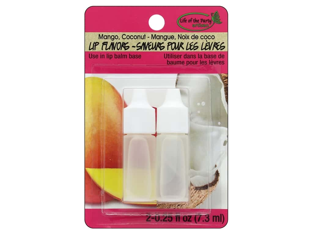 Life Of The Party Lip Balm Flavor 2 pc Mango/Coconut