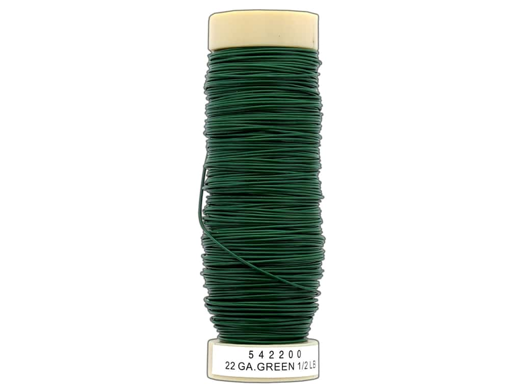 Panacea Wire Spool 22 Ga 1/2 lb Green