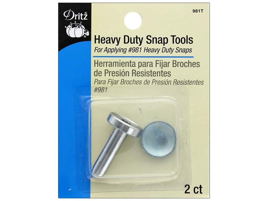 Dritz Heavy Duty Snap For 981 Heavy Duty Snaps