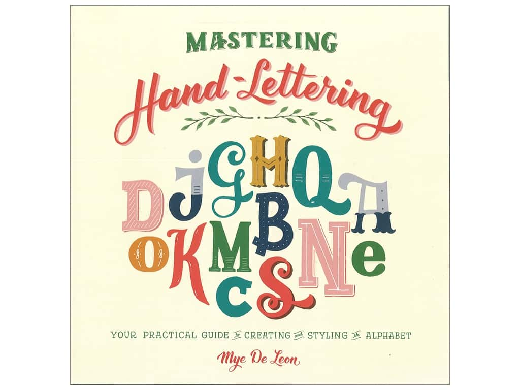 Skyhorse Publishing Mastering Hand-Lettering Book
