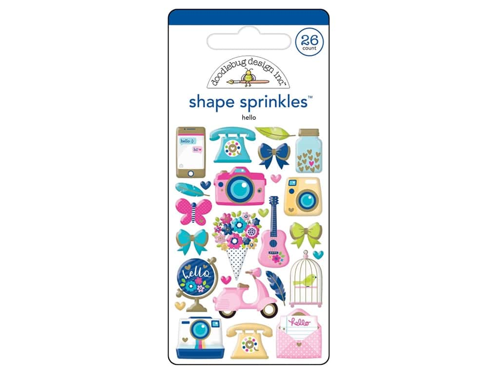 Doodlebug Collection Hello Sprinkles Shape