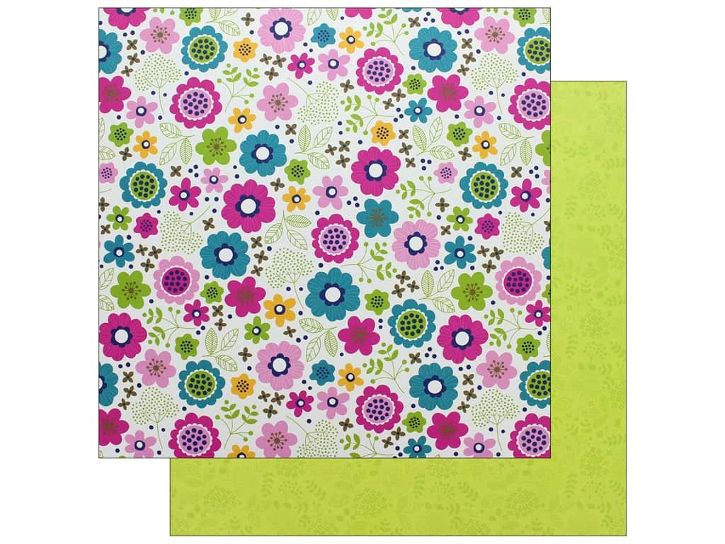 Doodlebug Collection Hello Paper 12 in. x 12 in. Lovely (25 pieces)