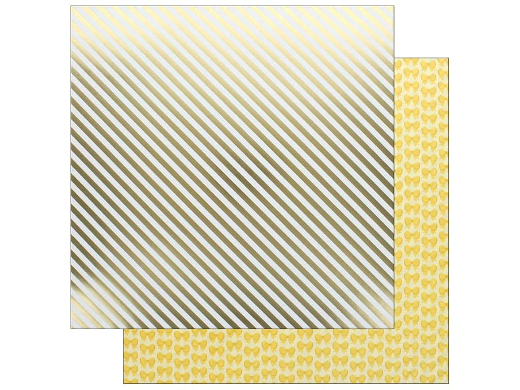 Doodlebug Collection Hello Paper 12 in. x 12 in. Good As Gold (25 pieces)
