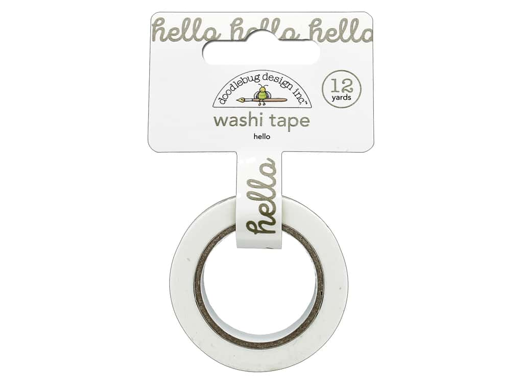 Doodlebug Collection Hello Washi Tape Hello