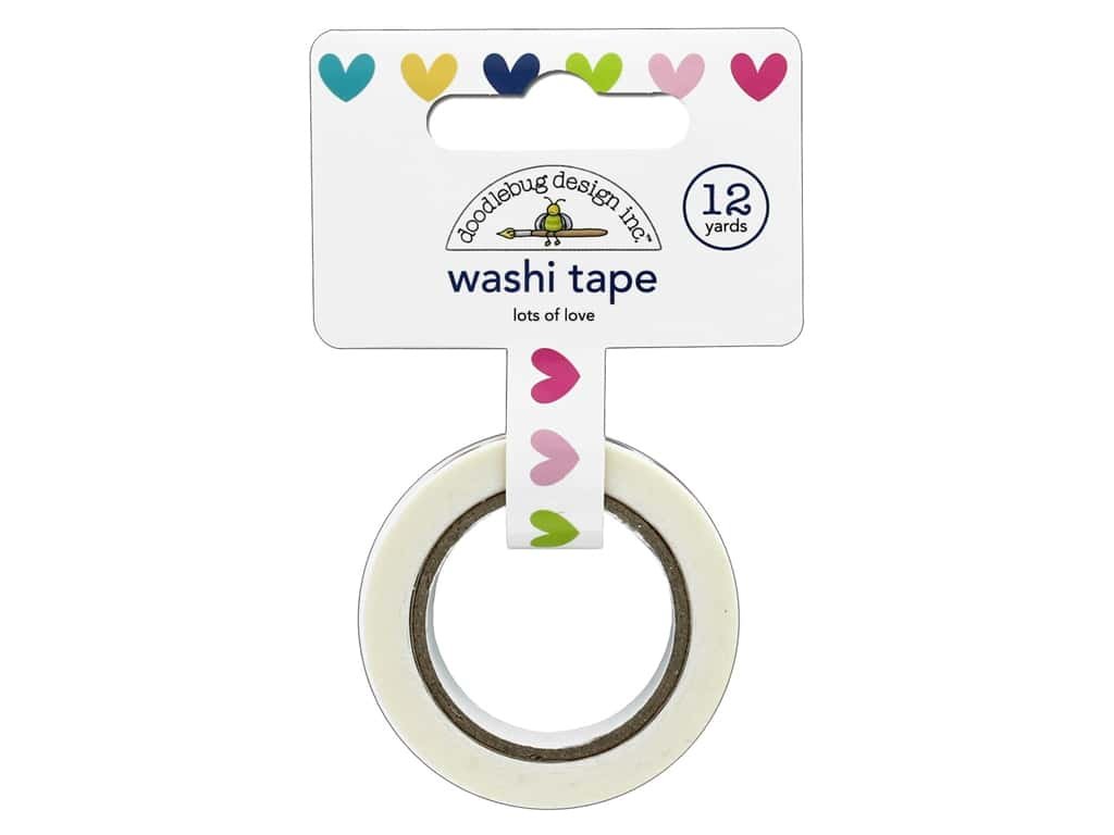 Doodlebug Collection Hello Washi Tape Lots Of Love