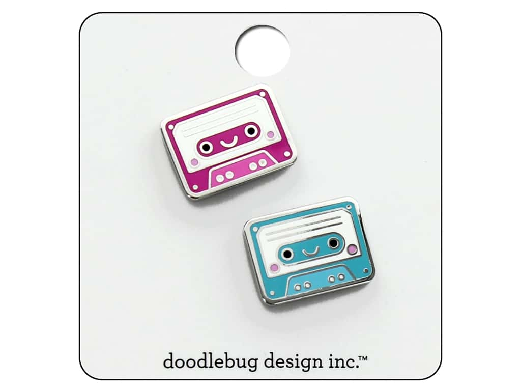 Doodlebug Collection Sweet Summer Collectible Pin Tiny Tapes