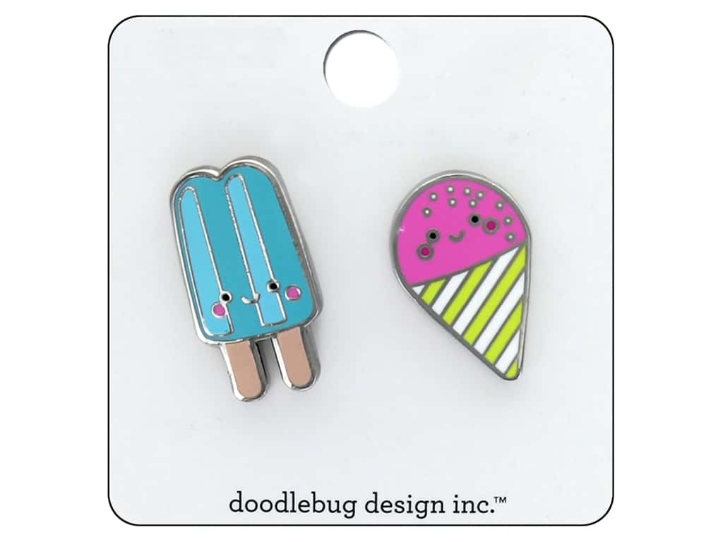 Doodlebug Collection Sweet Summer Collectible Pin Summer Treat