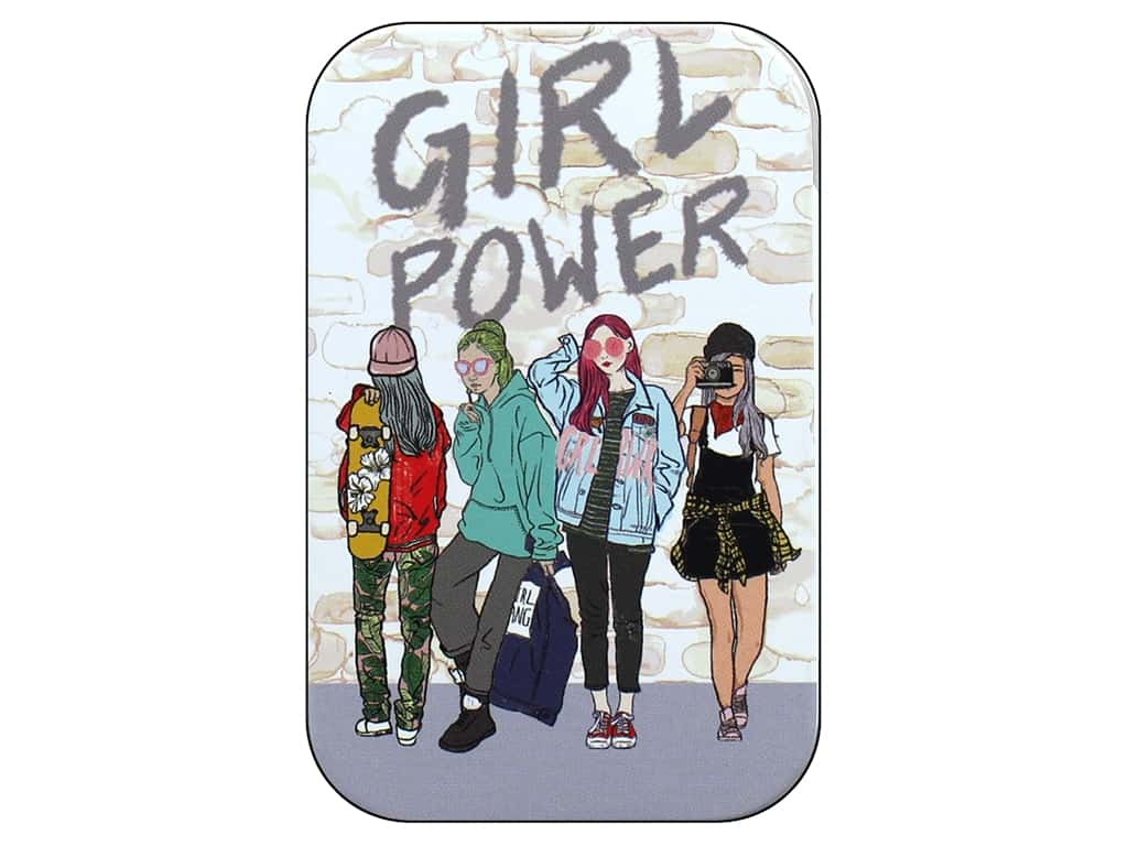Molly & Rex Decorative Tin Small Yes She Can Girl Power