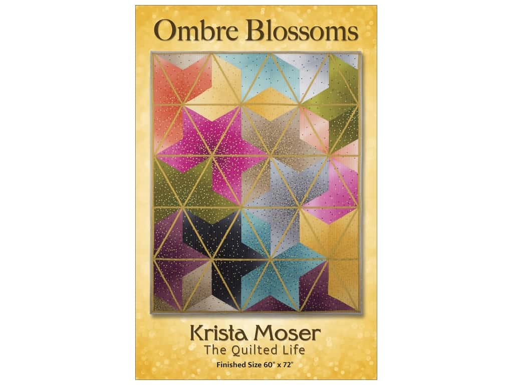 Krista Moser Ombre Blossoms Pattern