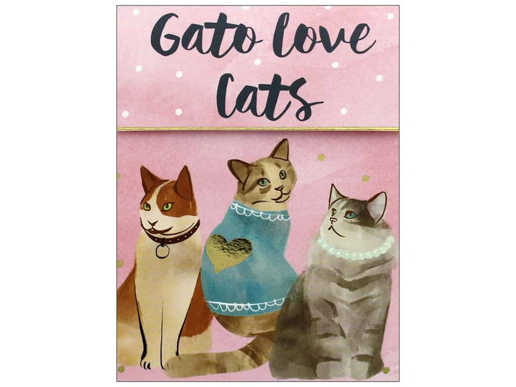 Molly & Rex Note Cats & Dogs Pocket Pad Love Cats