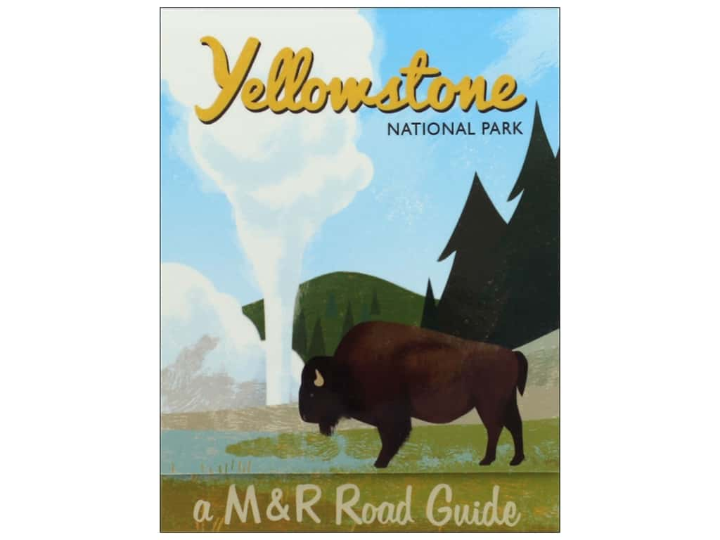 Molly & Rex Note Road Trip Pocket Pad Yellowstone