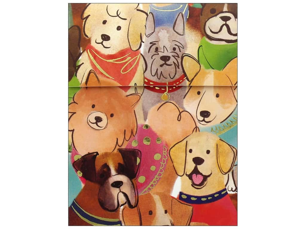 Molly & Rex Note Cats & Dogs Pocket Pad Dogs