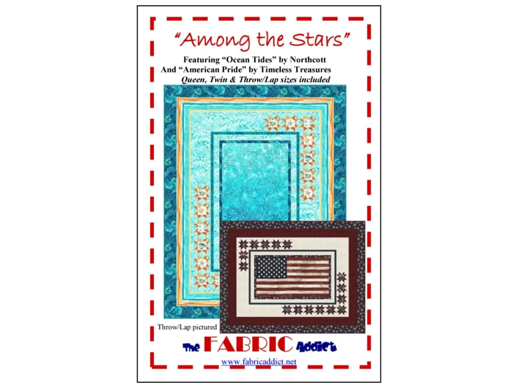 The Fabric Addict Among The Stars Pattern