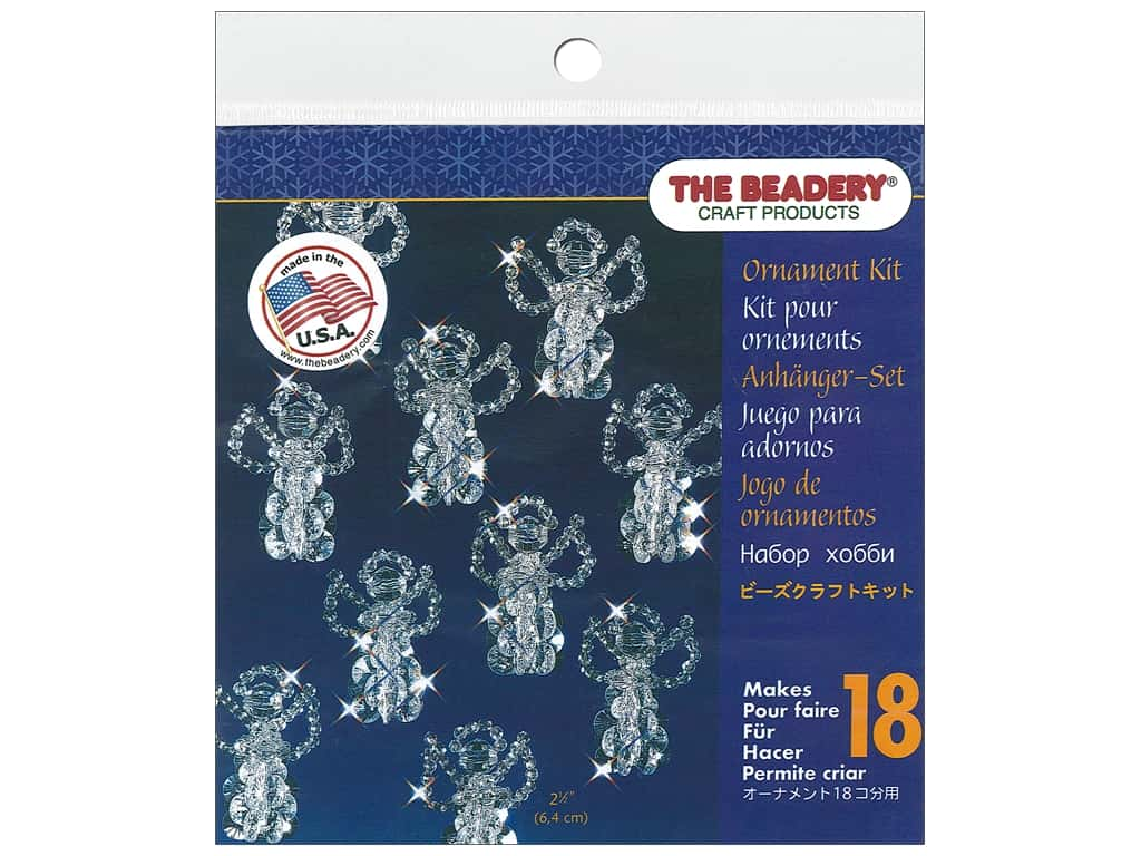 The Beadery Kit Ornament Little Angels