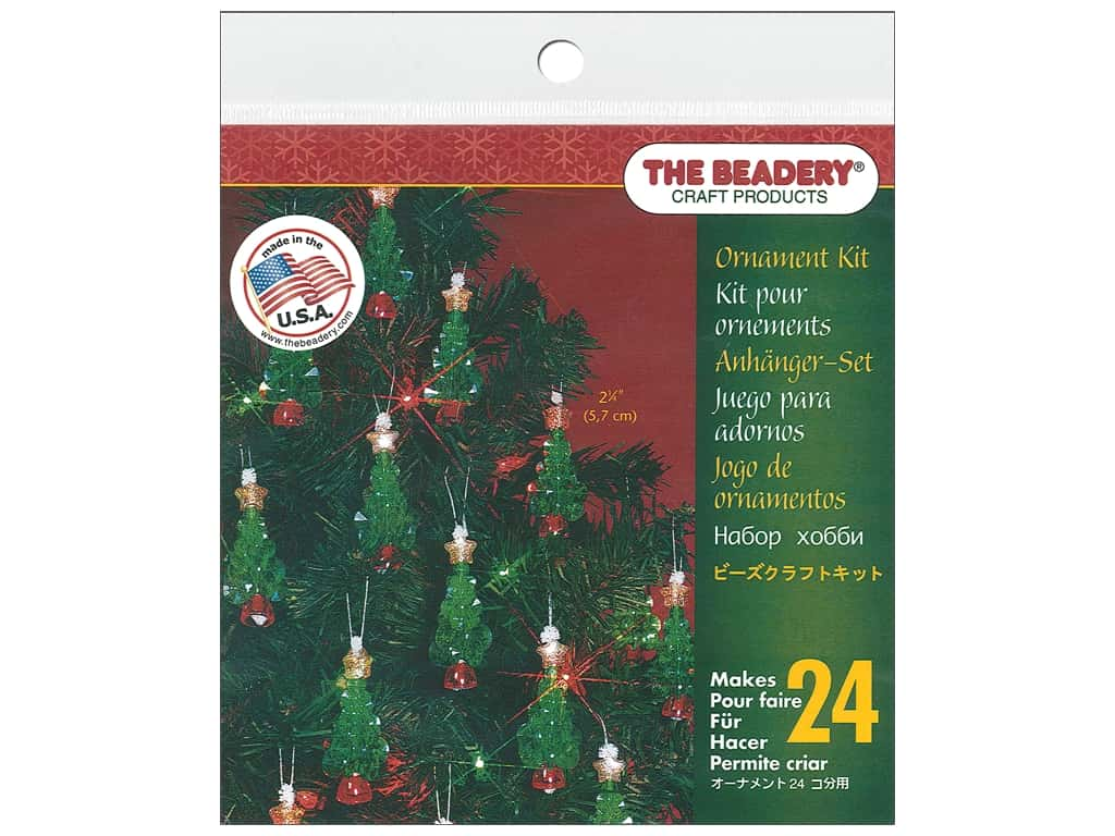 The Beadery Kit Ornament Mini Tree
