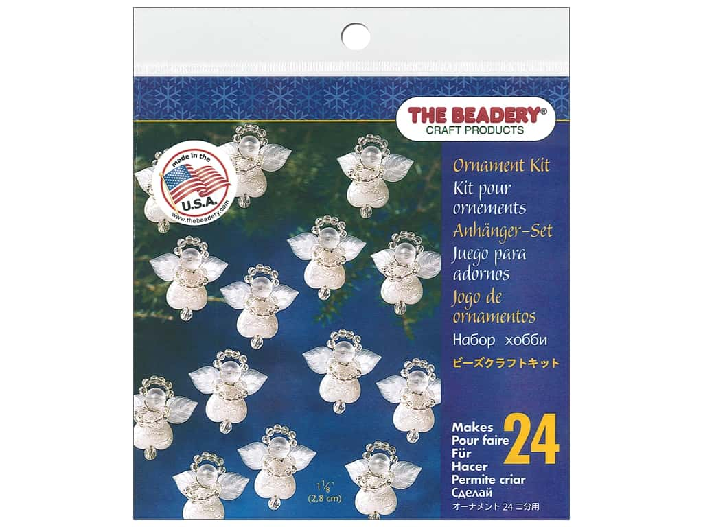 The Beadery Kit Ornament Littlest Angels