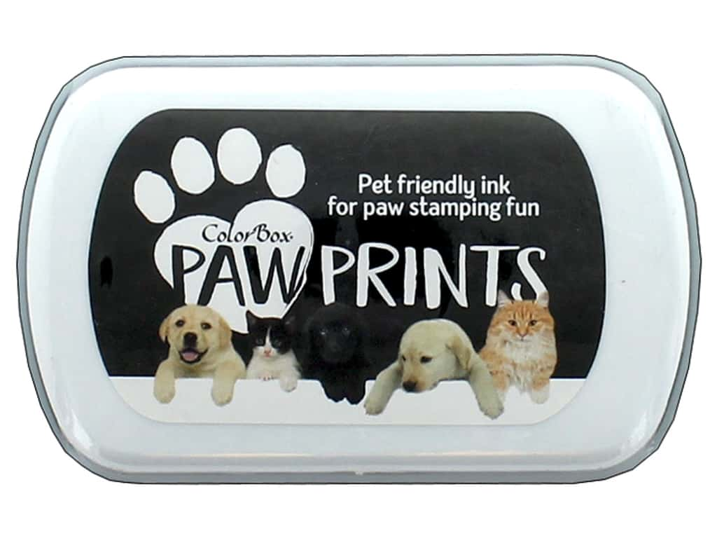 ColorBox Paw Prints Ink Pad Black