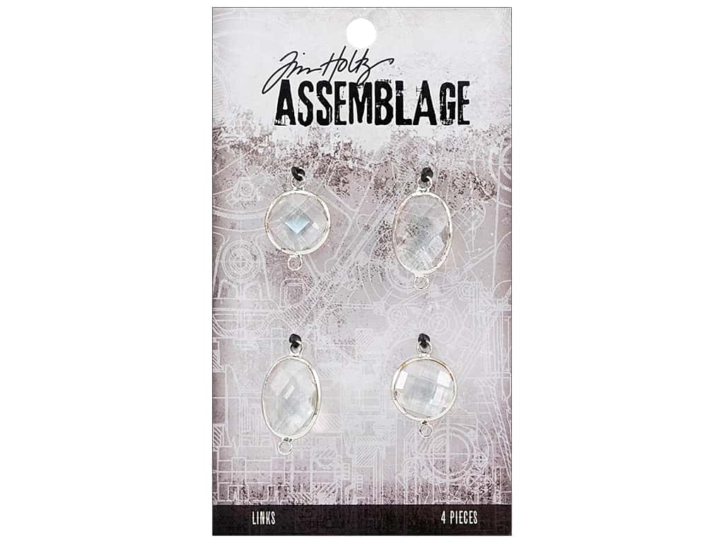 Tim Holtz Assemblage Links Glass Chandelier