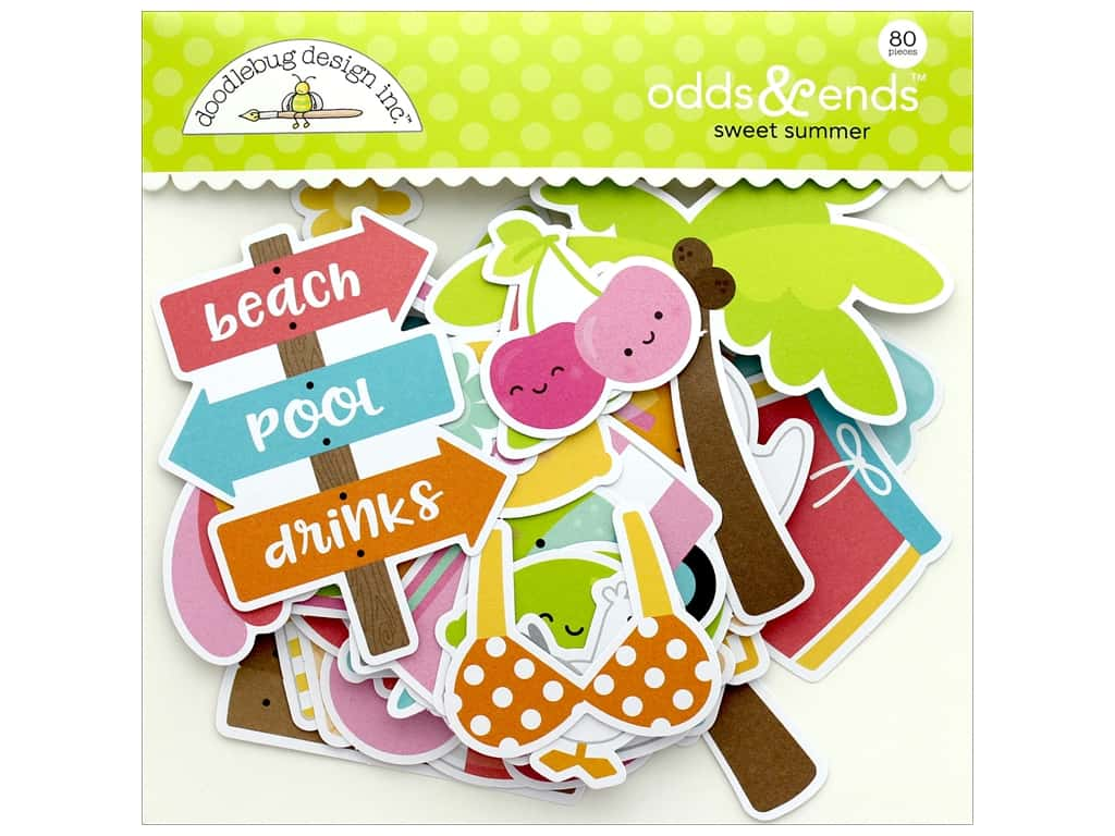 Doodlebug Collection Sweet Summer Odds & Ends
