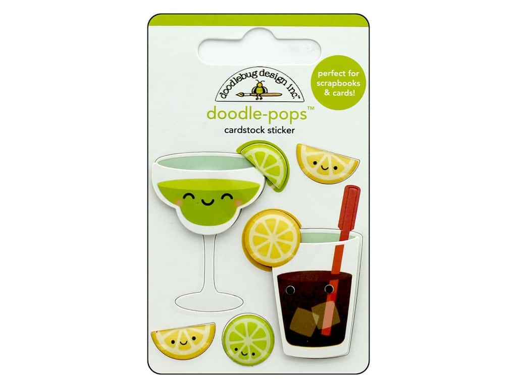 Doodlebug Collection Sweet Summer Doodle Pops Summer Sippers