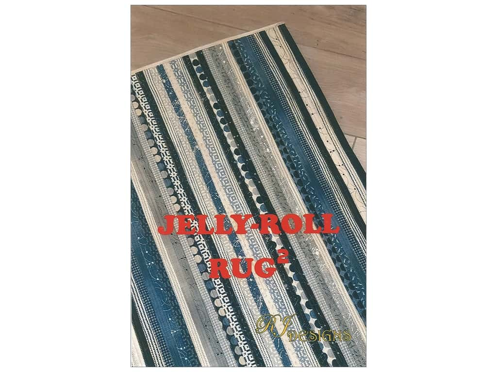 RJ Designs Jelly Roll Rug Squared Pattern