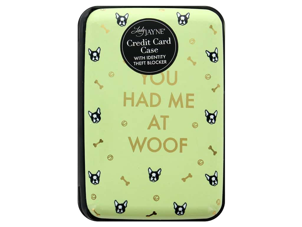 Lady Jayne Case Credit Card You Had Me At Woof