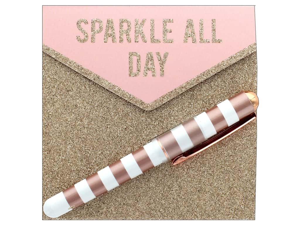 Lady Jayne Matchbook Note Pad With Pen Sparkle All Day