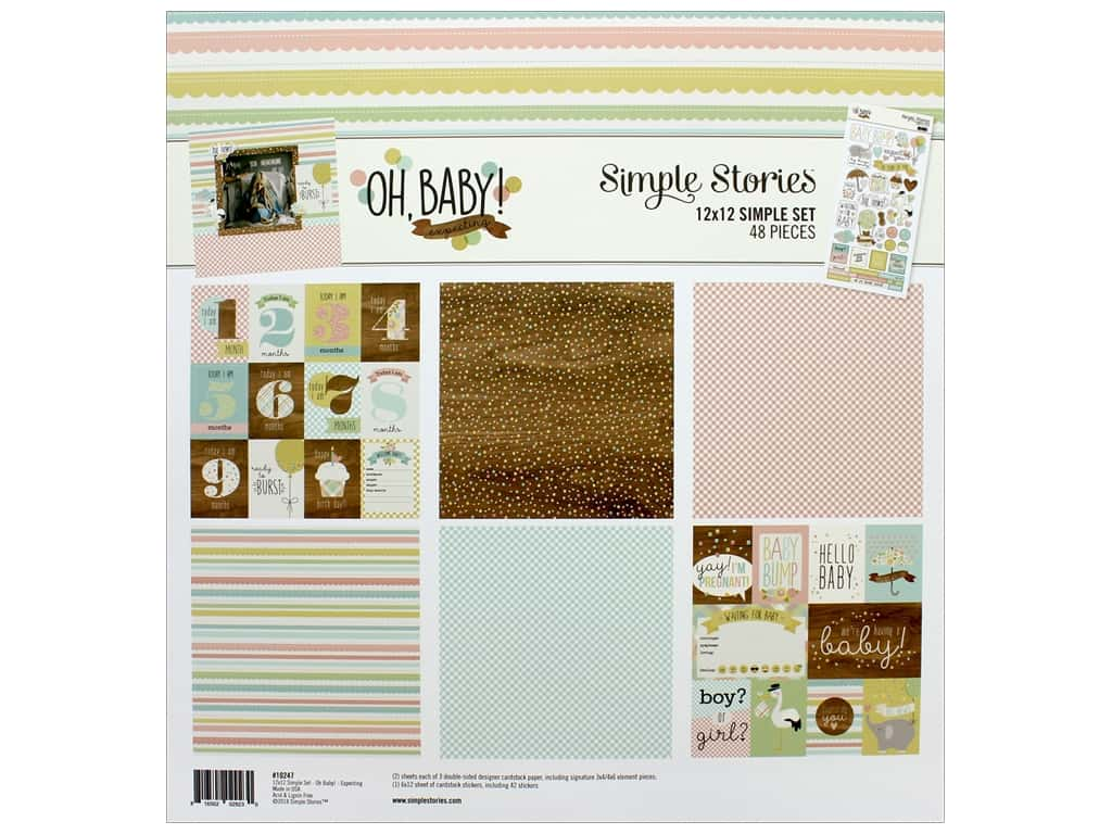 Simple Stories Oh Baby Expecting Collection Kit
