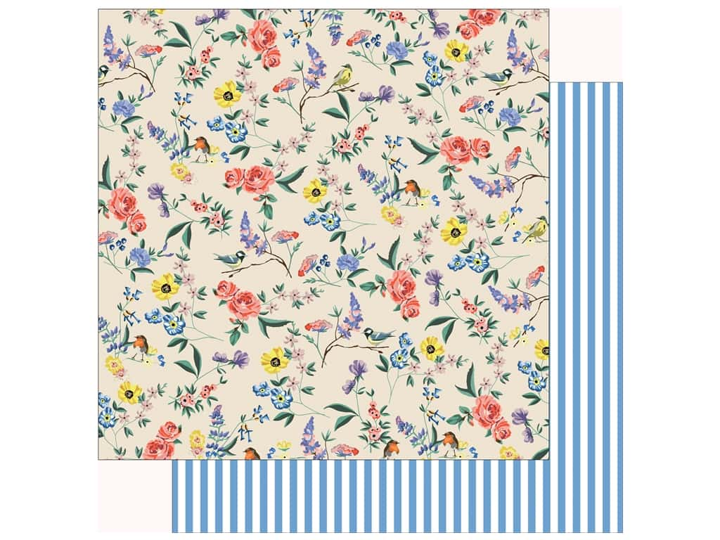 Carta Bella Practically Perfect Paper 12 in. x 12 in. Garden Melody (25 pieces)