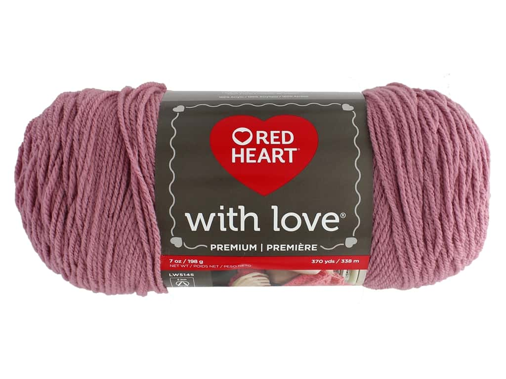 Red Heart With Love Yarn 370 yd. #1711 Cameo