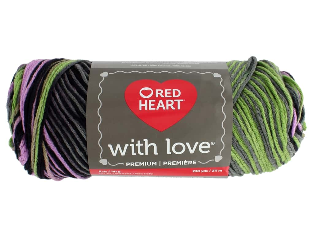Red Heart With Love Yarn 230 yd. #1933 Echo