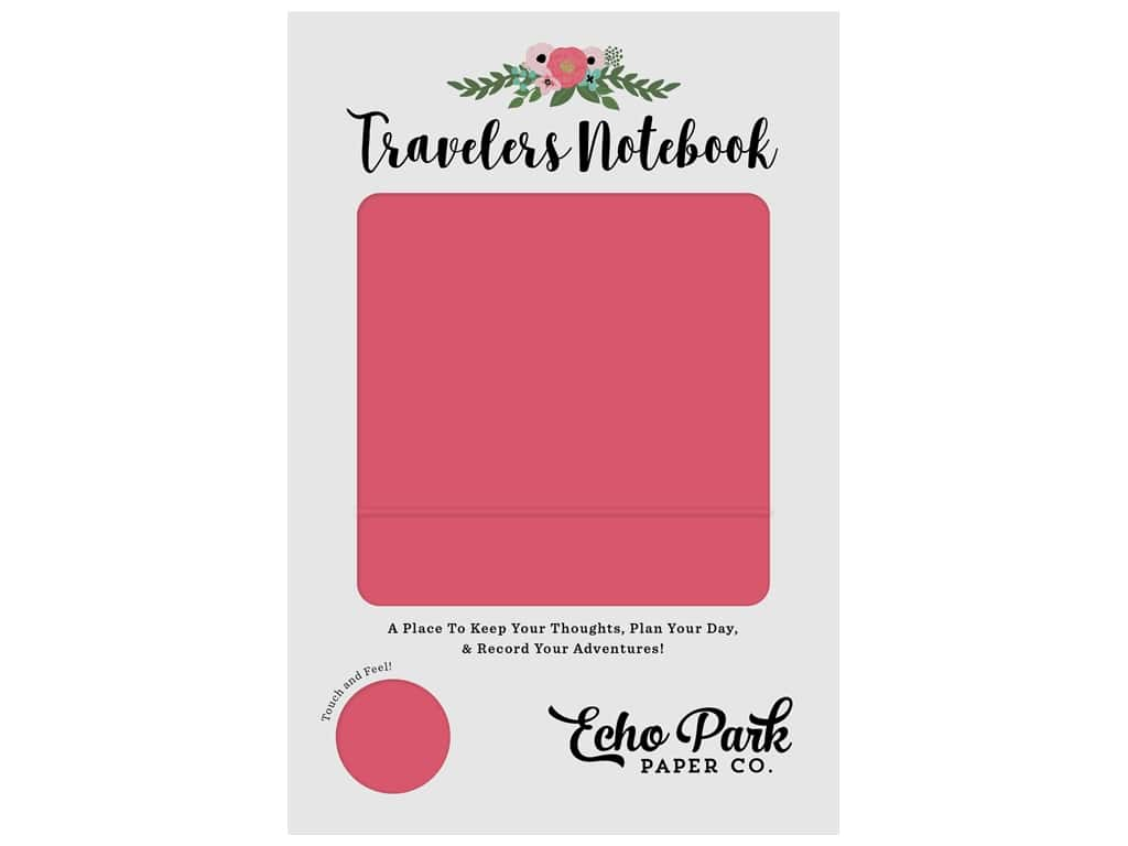 Echo Park Collection Travelers Notebook Coral