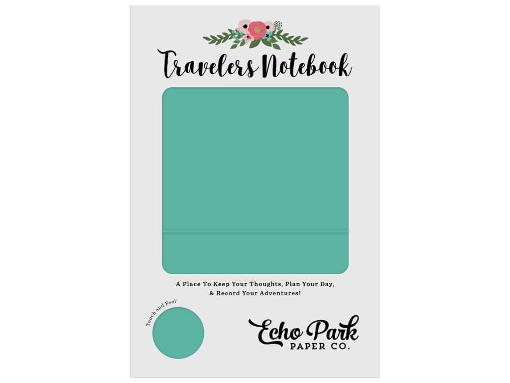 Echo Park Collection Travelers Notebook Teal