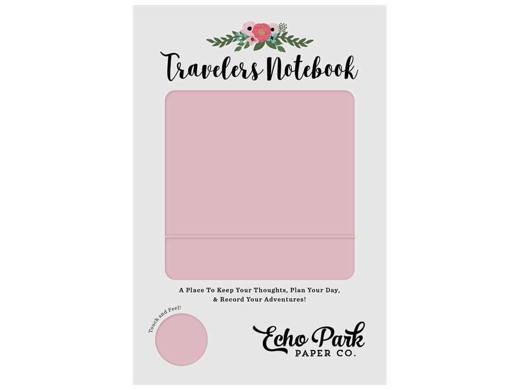Echo Park Collection Travelers Notebook Pink