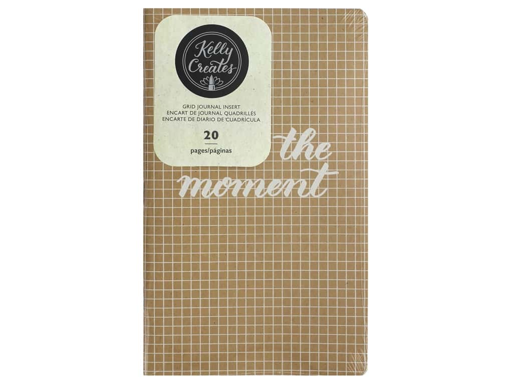 American Crafts Collection Kelly Creates Journal Insert Grid
