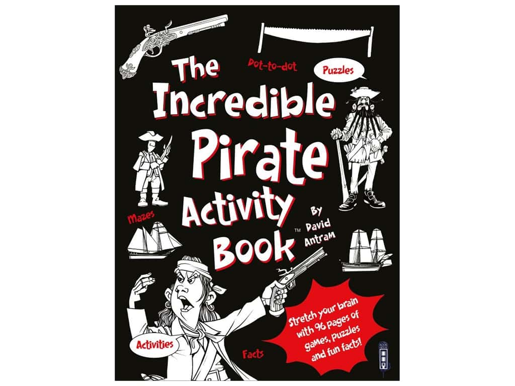 Book House Incredible Pirate Activity Book