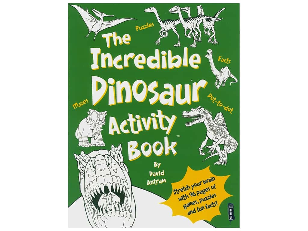 Book House Incredible Dinosaur Activity Book
