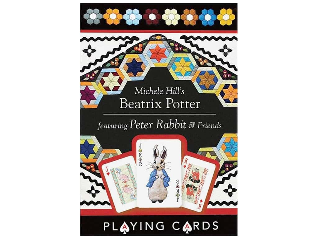 C&T Publishing Gifts Michele Hill's Beatrix Potter Playing Cards