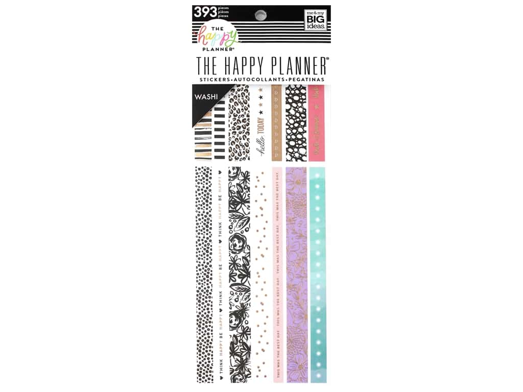 Me&My Big Ideas Happy Planner Washi Book Pastels