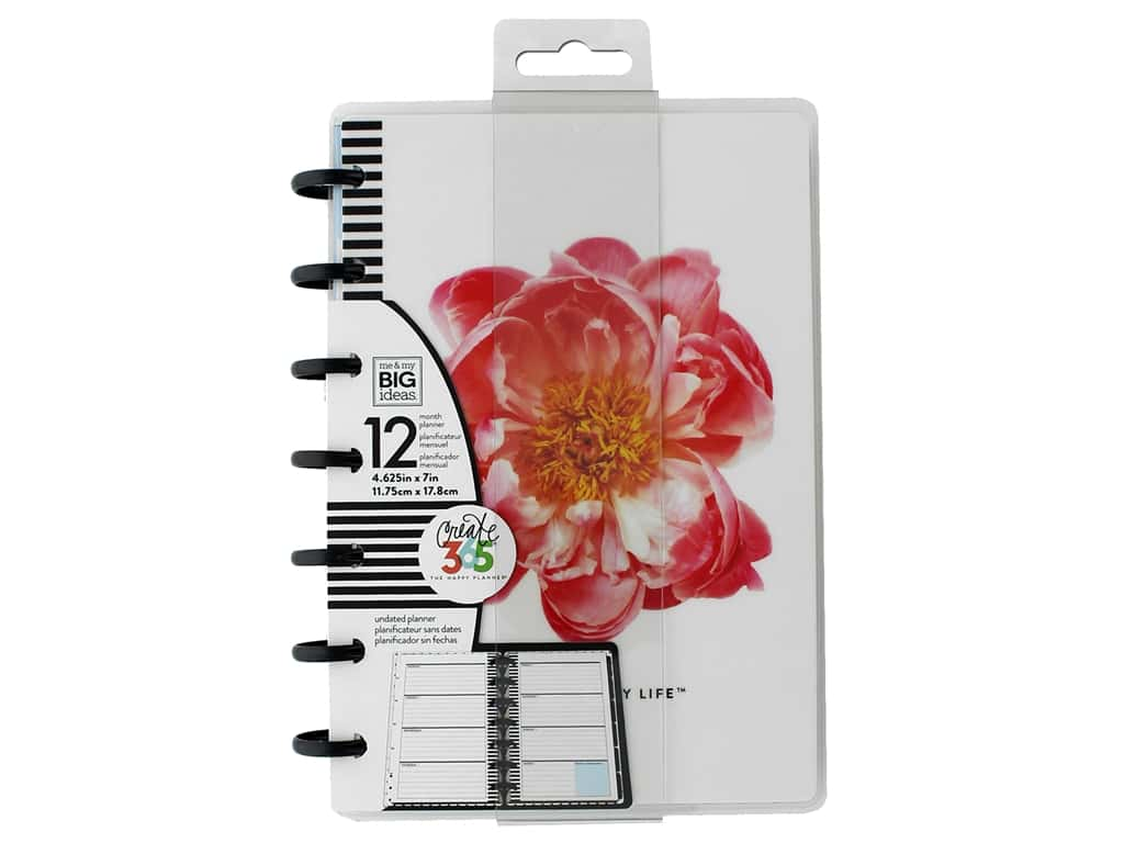 Me&My Big Ideas Happy Planner Planner Mini Undated Market Floral