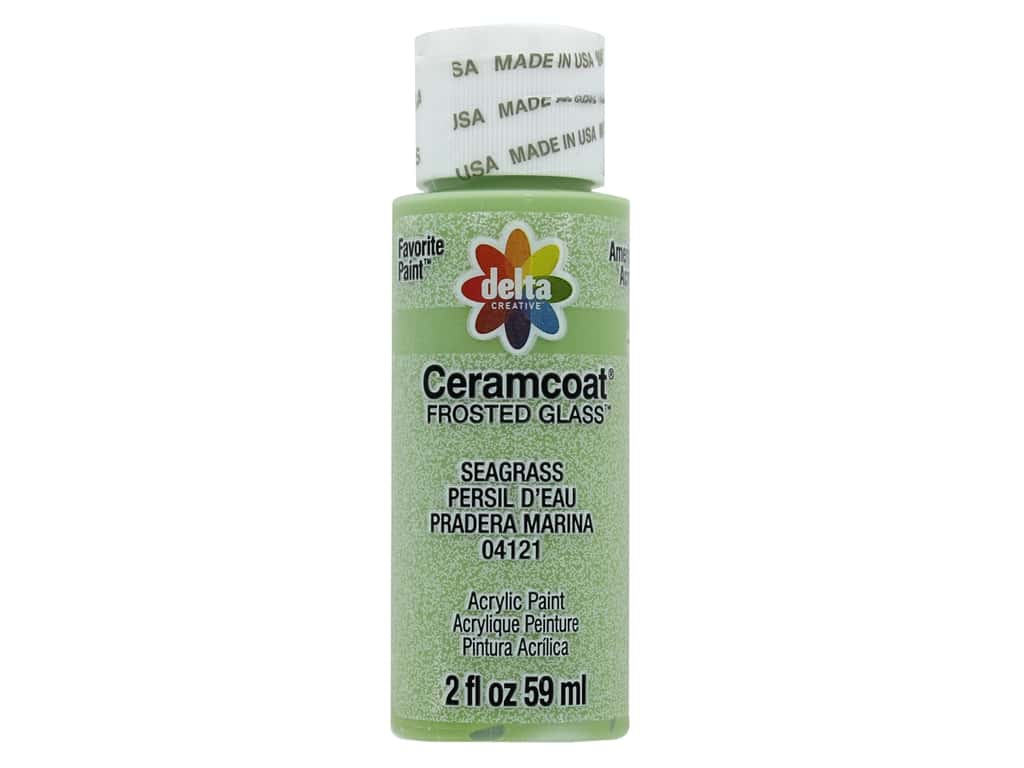 Delta Ceramcoat Acrylic 2 oz Frosted Glass Seagrass