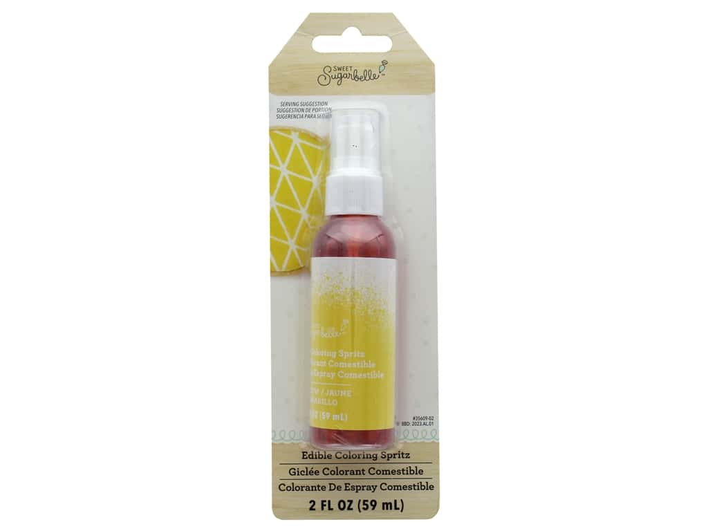 American Crafts Sweet Sugarbelle Spray Mist 2 oz. Yellow